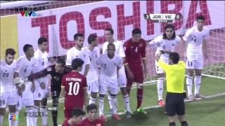 sai lầm của thủ môn Jodan để Duy Mạnh ghi bàn cho U23 VN ( Asian Cúp 2016)