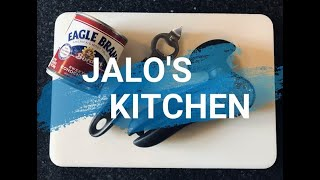 JALO'S KITCHEN WEEK 5 CAN OPENING