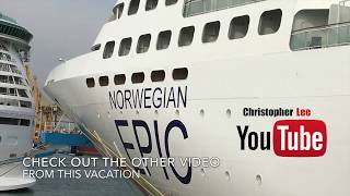 Norwegian Epic Tour 2018