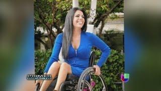 El cielo es el límite para una jovencita a pesar que está en una silla de ruedas - Primer Impacto