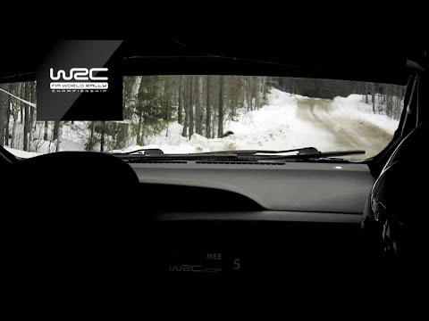 WRC - Rally Sweden 2019: Shakedown ONBOARD Meeke