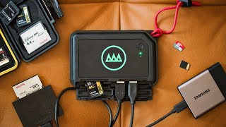 BACKUP your PHOTOS & VIDEOS on the fly! Gnarbox Review