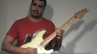 preview picture of video 'Clases de Guitarra (1) - Pentatónicas y Silencios de Semicorchea (Video Demo)'