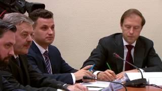 Диалог Андрея Медведева с В.В. Путиным