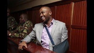 Joseph Irungu almarufu 'Jowie' aachiliwa kwa dhamana ya shilingi milioni mbili na jaji Wakiaga