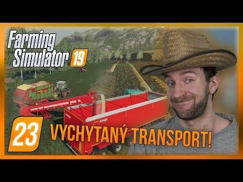 VYCHYTANÝ TRANSPORT SLÁMY! | Farming Simulator 19 #23
