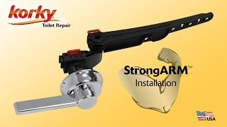 How to Install StrongARM Toilet Tank Lever by Korky