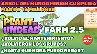 Plant Vs Undead | El Arbol Del Mundo Exploto | Ultimas Noticias | Volvieron Los Grupos