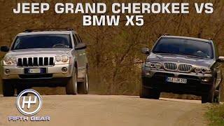 Jeep Grand Cherokee VS BMW X5 | Fifth Gear Classic by Fifth Gear
