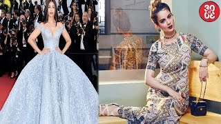 Aishwarya Turns Heads At Cannes 2017 | Kangana To Play A 80 Year Old In Her Directorial Debut