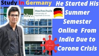 He Started His Summer Semester Online From India| Is VirtualLearning Beneficial All Doubts Resolved