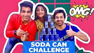 SODA CAN Challenge | Rimorav Vlogs