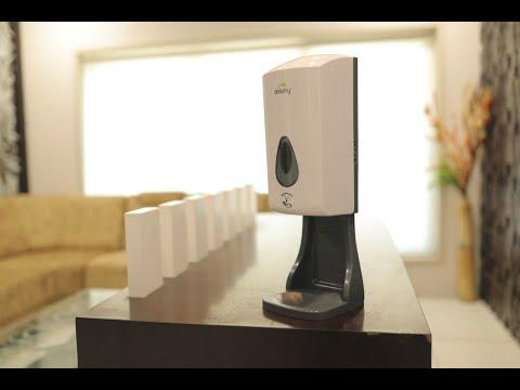 Automatic Hand Sanitizer / IPA Spray Dispenser-1000ml