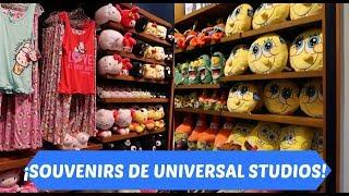 ¡SOUVENIRS EN UNIVERSAL STUDIOS! / RECORRIENDO UNIVERSAL STUDIOS STORE