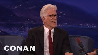 Ted Danson Got Into Acting Because Of A Girl   CONAN On TBS