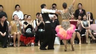 社交ダンス サンバ 第1位 第13回ヤングサークル10ダンス選手権 若者サークル競技会