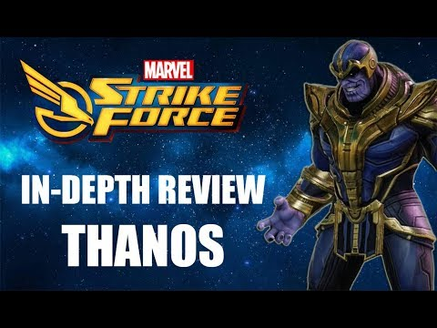 Marvel Strike Force -Thanos In-Depth Review