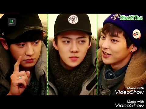 EXO (엑소) LINE 2014 Sub Indonesia