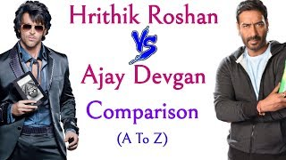#Hrithik Roshan vs #Ajay Devgan Comparison 2018,(Hit and flop)(Net worth)#Bollywood #Actor