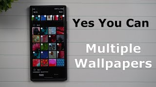 Customized Multiple Wallpapers -  Yes You Can