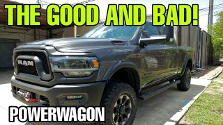 LOVE AND HATE About The 2019 RAM Powerwagon!  Must See This!