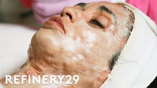 I Tried The Grandma Facial For The First Time | Macro Beauty | Refinery29