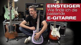 Einsteiger: Worauf muss ich beim Kauf einer E-Gitarre achten?