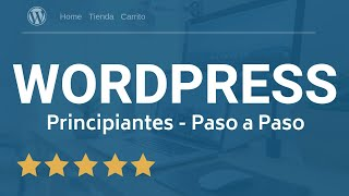 Tutorial WordPress 2019