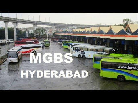 India's No.1 Bus Terminal, MGBS Buses Entry, Hyderabad, Telangana   TSRTC