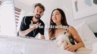 He's So Distracting! | October Vlog