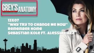 "Grey's Anatomy Soundtrack - ""Remember Home"" By Sebastian Kole Ft. Alessia Cara (13x07)"