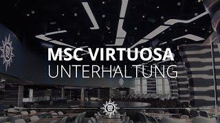 MSC Virtuosa: Unterhaltung