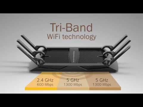 Top 5 Wireless Tri Band Routers 2017| Best Gaming Tri Band Router Review | 2.4Ghz Gaming Router