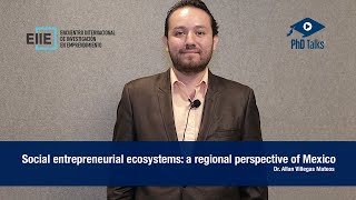 Social entrepreneurial ecosystems: a regional perspective of Mexico