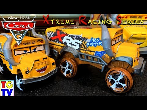 Disney Pixar Cars 3 XRS (Xtreme Racing Series) Miss Fritter