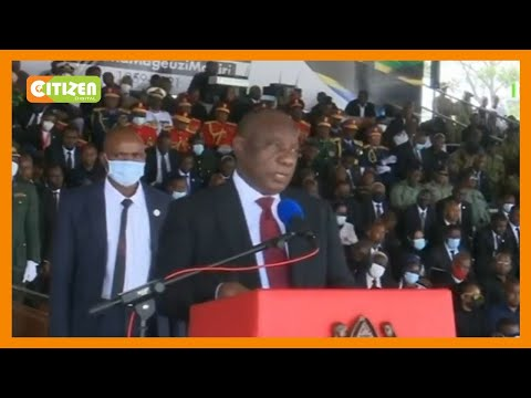 Pres. Ramaphosa: Kiswahili is now taught in South African schools in honour of President Magufuli