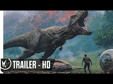 Jurassic World Fallen Kingdom Official Trailer #1 (2018) Chris Pratt -- Regal Cinemas [HD]