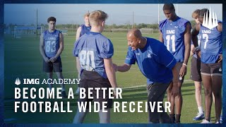 3 Football Drills to Become a Better Wide Receiver