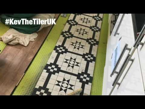 How to lay Victorian Floor Tiles
