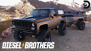 K5 Blazer With a Bass-Dropping Trailer | Diesel Brothers