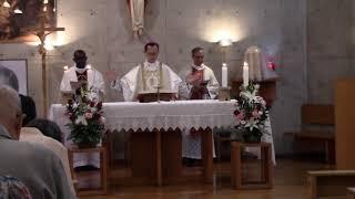 カトリック北白川教会(京都市)で聖ホセマリア記念ミサ