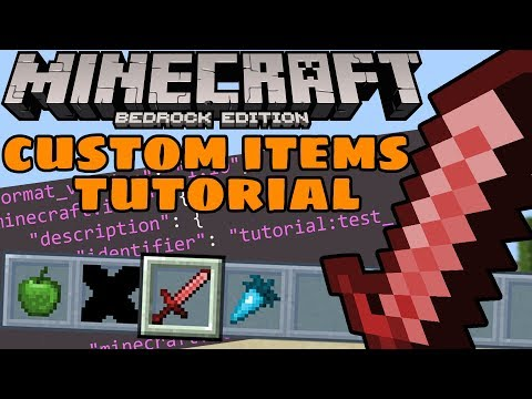 Custom Crafting Recipes On The Bedrock Edition Of Minecraft Using