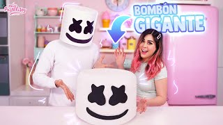 COCINÉ CON MARSHMELLO UN BOMBÓN GIGANTE | MIS PASTELITOS  COMPARTE EL VIDEO Y DALE ME GUSTA ♥♥♥ SUSCRÍBETE: http://bit.ly/1vOBVyo  ♥♥♥ SÍGUEME AQUÍ ♥♥♥ Facebook: http://on.fb.me/1q5ZaM0 Twitter: http://bit.ly/1Bay4vW Instagram: http://bit.ly/1LfV6qd Snapchat: mispastelitos  VIDEOS ANTERIORES: DONAS EN MÁQUINA DE JUGUETE: https://youtu.be/U3FJuTReyjk INTENTÉ HACER EL ALGODÓN GIGANTESCO DE LA FERIA: https://youtu.be/_G6Co8MYJWM  MÁNDAME TU VIDEO DICIENDO ESHPESHIAL AL CORREO: videomispastelitos@hotmail.com  #MisPastelitos  Si llegas a leer esto comenta aquí a bajito: No sabía que Gris tenia una gemela