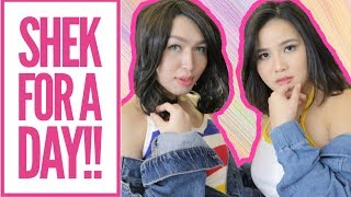 I BECAME SHEK'S DIARY FOR A DAY!!