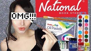 TIGAS NG MUKHA!! FULL FACE NATIONAL BOOKSTORE!!!