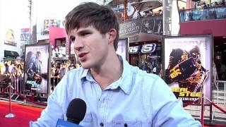 Matt Lanter Talks 90210 At Real Steel Premiere