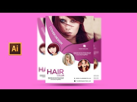 Illustrator Tutorial/hair Color Flyer Design Mp3