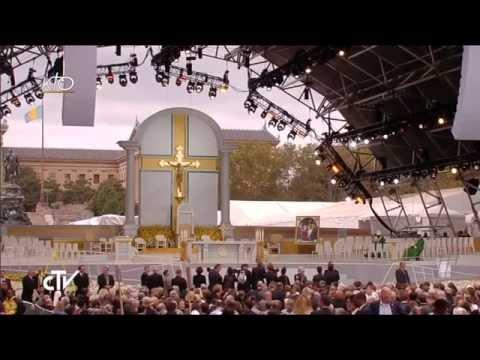 Le Pape célèbre la messe de clôture - Rencontre Mondiale des Familles