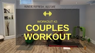 Couples Exercise Workout #2 - Couples Workout at Home by The Mallari Movement