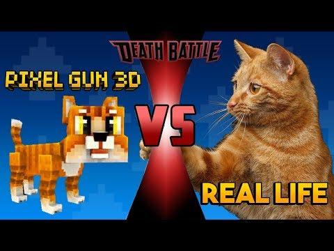 Pixel Gun 3D VS Real Life #2
